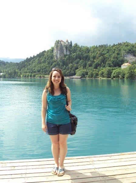 At Lake Bled Last Sunday...